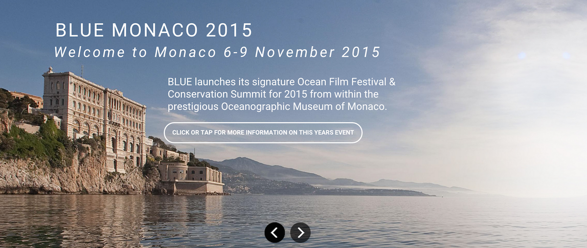Blue Ocean Film Festival Monaco